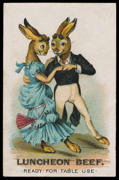 Rabbits-dancing Victorian