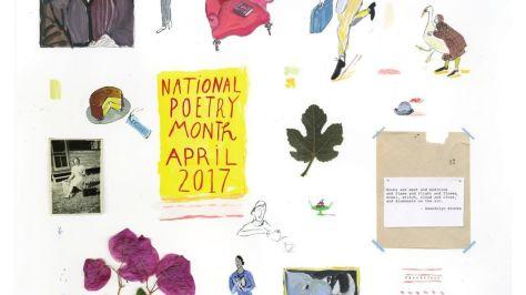 NaPoMo Poster Mira Kalman